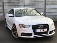 USED 2013 63 AUDI A5 1.8 TFSI S LINE BLACK EDITION 2d 170 BHP NAPPA LATHER/XENON/FACELIFT MODLE