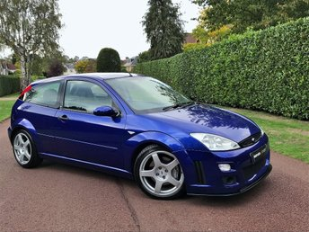 2003 FORD FOCUS 2.0 RS 3dr £10995.00