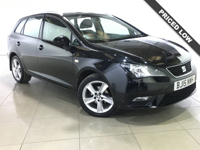 View our 2015 15 SEAT IBIZA 1.4 TOCA 5d 85 BHP