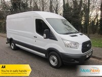 USED 2014 64 FORD TRANSIT 2.2 310 SHR P/V 1d 99 BHP Fantastic Value Long Wheelbase High Roof Ford Transit with Satellite Navigation, Air Conditioning, Electric Windows, Electric Door Mirrors and Ford Service History