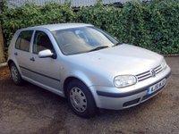 2001 VOLKSWAGEN GOLF 1.6 SE 5d 103 BHP £250.00