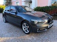2011 BMW 1 SERIES 2.0 118D SPORT 5d 141 BHP £8795.00