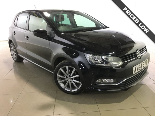 View our 2014 64 VOLKSWAGEN POLO 1.4 SE DESIGN TDI BLUEMOTION 5d 75 BHP