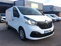 2015 RENAULT TRAFIC 1.6 SL27 BUSINESS PLUS ENERGY DCI S/R P/V 1d 120 BHP £9350.00
