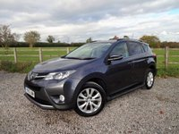 2013 TOYOTA RAV4 2.2 D-4D INVINCIBLE 5d 150 BHP £SOLD