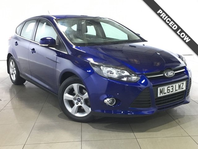 View our 2013 63 FORD FOCUS 1.6 ZETEC NAVIGATOR TDCI 5d 113 BHP