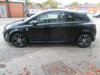 USED 2013 13 VAUXHALL CORSA 1.4 BLACK EDITION 3d 118 BHP
