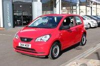 2014 SEAT MII 1.0 S A/C 60 BHP 3d £4285.00