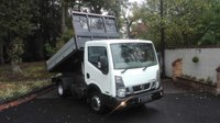 USED 2015 15 NISSAN NT400 CABSTAR 2.5 DCI 35.14 TIPPER 136 BHP One Owner, Low Mileage Tipper