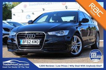 2012 AUDI A6 2.0 TDI S LINE 4d 175 BHP £13450.00