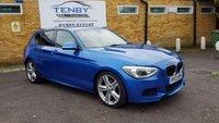 2013 BMW 1 SERIES 2.0 118D M SPORT 5d AUTO 141 BHP £10984.00