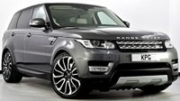 USED 2016 66 LAND ROVER RANGE ROVER SPORT 3.0 SD V6 HSE CommandShift 2 4X4 (s/s) 5dr 2017 Model Yr, LR Service Plan