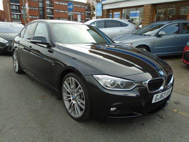 2013 63 BMW 3 SERIES 3.0 330D M SPORT 4d AUTO 255 BHP