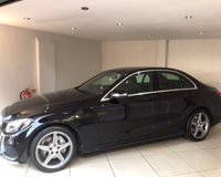 USED 2014 MERCEDES-BENZ C-CLASS C200 AMG LINE