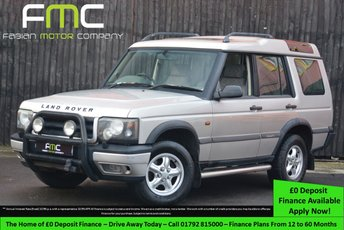 1999 LAND ROVER DISCOVERY 2.5 TD5 GS 7STR 5d 136 BHP £1999.00
