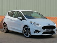 USED 2018 67 FORD FIESTA 1.0 ST-LINE 3d 124 BHP 18 INCH ALLOY WHEELS,REAR PRIVACY GLASS AND 125BHP ENGINE