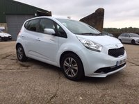 USED 2016 16 KIA VENGA 1.4 2 ISG 5d 89 BHP - 1 LADY OWNER + 2 KIA SERVICES