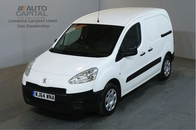2014 64 PEUGEOT PARTNER 1.6 HDI PROFESSIONAL L1 850 90 BHP SWB AIR CON VAN ONE OWNER FULL S/H SPARE KEY