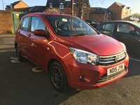 USED 2015 15 SUZUKI CELERIO 1.0 SZ4 5d 67 BHP EXCEPTIONALLY CHEAP TO RUN, LOW CO2 EMISSIONS, £0 ROAD TAX, LOW INSURANCE, AND EXCELLENT FUEL ECONOMY!! TOP SPECIFICATION WITH AIR CONDITIOINING, ALLOY WHEELS, AUXILLIARY INPUT, AND USB CONNECTION! 6228 MILES ONLY AND FULL SERVICE HISTORY!