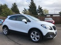 2014 VAUXHALL MOKKA 1.7 CDTI TECH LINE S/S 5d ONE PRIVATE OWNER FROM NEW  £8500.00