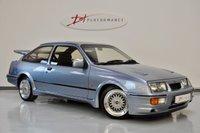 1987 FORD SIERRA 2.0 RS COSWORTH 3d MOONSTONE BLUE/TAROX BRAKES/GRAHAM GOODE £41950.00