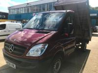 USED 2008 58 MERCEDES-BENZ SPRINTER  2.1 CDI 311 Tipper 2dr MWB ONE OWNER FROM NEW