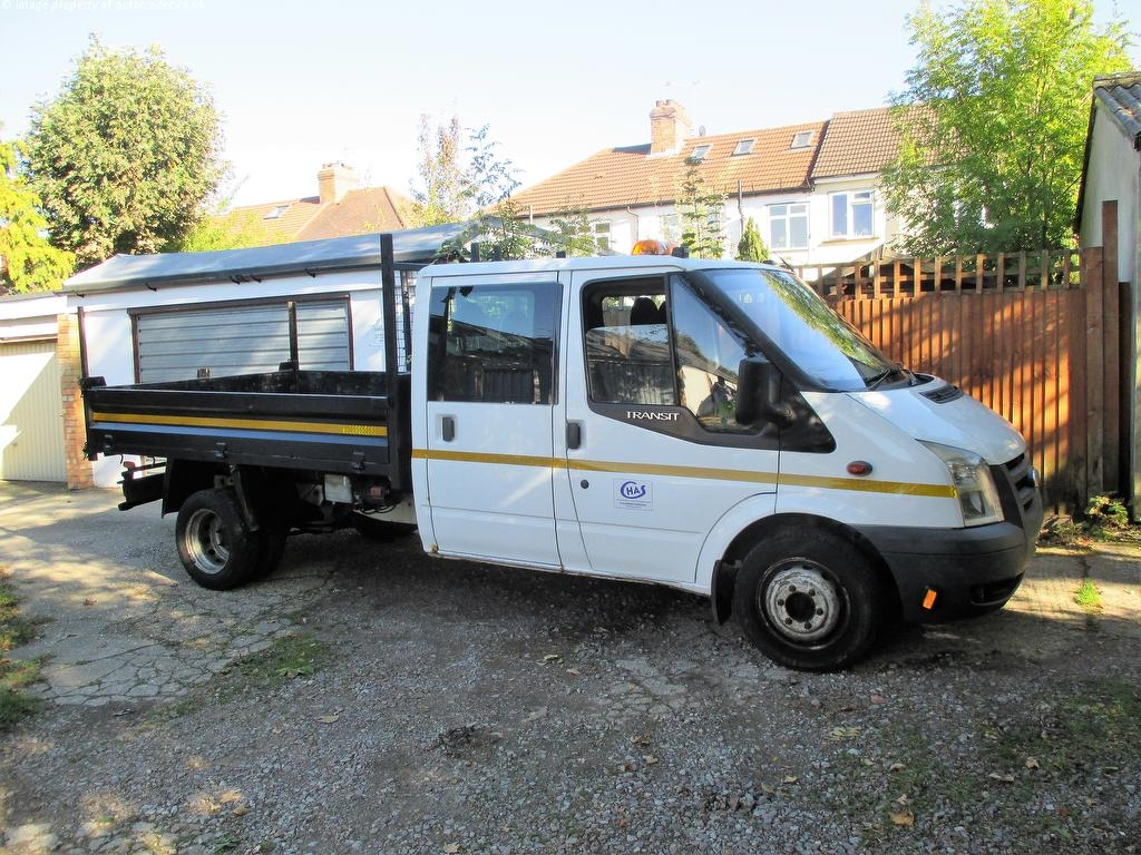 View our 2007 07 FORD TRANSIT 2.4 TDCi 350 L HD 1-Way Double Cab Tipper 4dr (LWB)