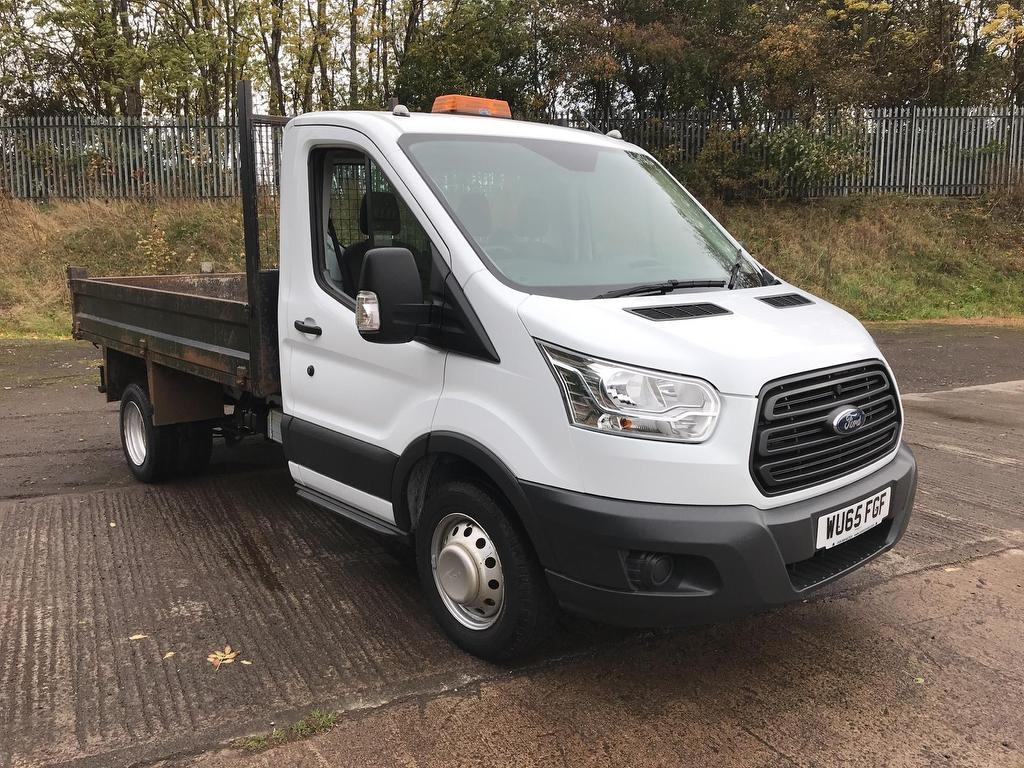 View our 2015 65 FORD TRANSIT L2 SINGLE CAB TIPPER 125PS EURO 5 (VALUE RANGE VEHICLE - CONDITION REFLECTED IN PRICE) 2.2