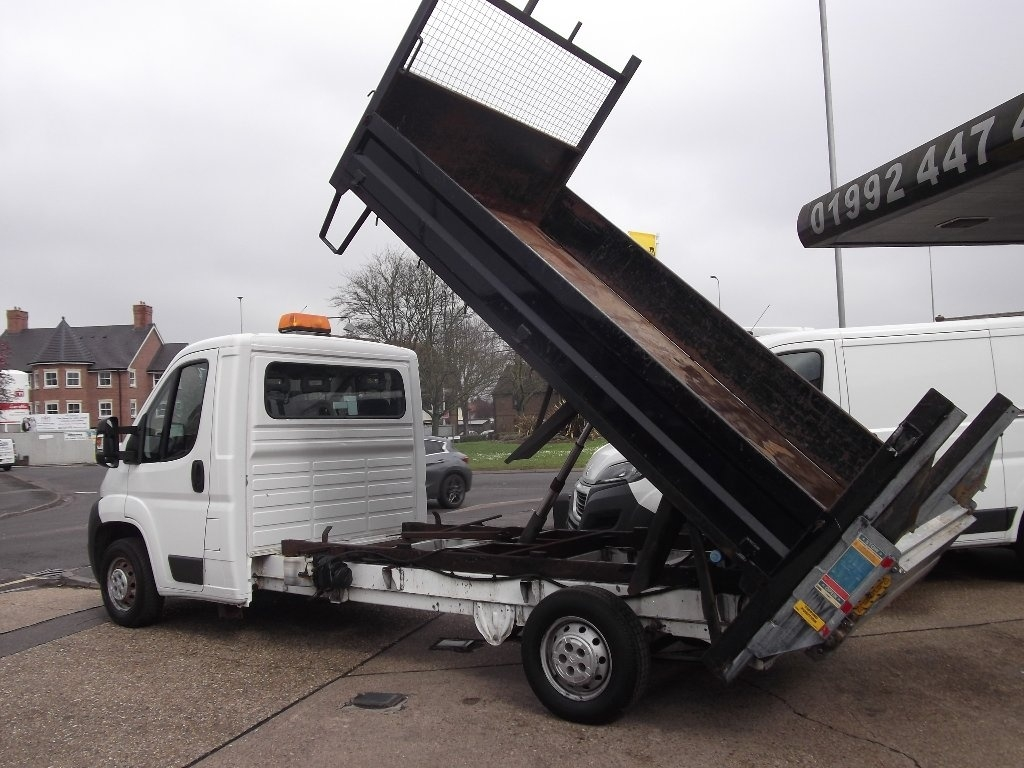 View our 2011 61 CITROEN RELAY 2.2 HDi 35 L3 Tipper 2dr