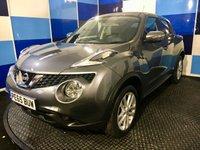 2015 NISSAN JUKE 1.6 ACENTA XTRONIC 5d AUTO 117 BHP £10195.00