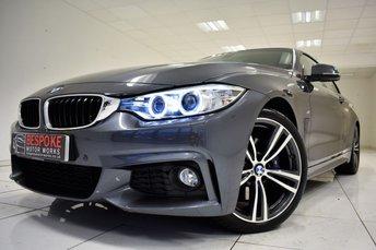 2016 BMW 4 SERIES 420D 2.0 M SPORT AUTOMATIC £21750.00