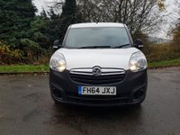USED 2015 64 VAUXHALL COMBO VAN 1.2 2300 CDTI ECOFLEX L2 LWB 6d 90 BHP TWIN LOADED SIDED DOORS LOW INSURANCE, ELECTRIC WINDOWS, AIR BAGS, CD PLAYER, RAC WARRANTY, NATIONWIDE DELIVERY