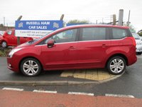 USED 2013 62 PEUGEOT 5008 1.6 HDI ACTIVE 5d 115 BHP