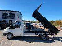 USED 2006 06 FORD TRANSIT 2.4 TD 350 M Tipper 2dr (DRW, MWB) **LOVELY CONDITION TIPPER**
