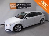 USED 2015 15 AUDI A3 1.6 TDI SPORT 5d 109 BHP BEAUTIFUL CAR FINISHED IN GLEAMING ALPINE WHITE. ONE OWNER FROM NEW WITH FULL HISTORY, THIS CAR HAS BEEN SERVICED REGARDLESS OF COST WITH SOME NICE SPECIFICATIONS, INC  CLIMATE CONTROL, ELEC HEATED MIRRORS, TWIN BAR 18INCH UPGRADED ALLOYS ,MULTI FUNCTION LEATHER CLAD STEERING WHEEL, AUDI MULTI MEDIA SYSTEMS
