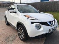 2014 NISSAN JUKE 1.6 TEKNA XTRONIC 5d AUTO 117 BHP £10495.00