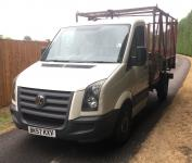 USED 2007 57 VOLKSWAGEN GOLF 2.5 TDI CR35 Tipper 2dr (MWB) *CAGED TIPPER*