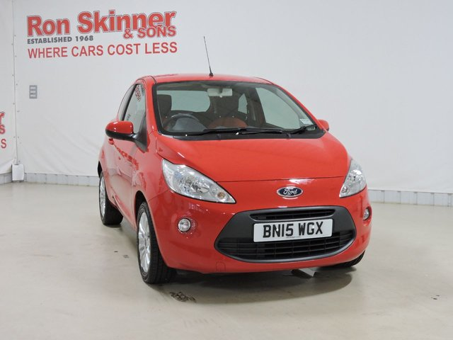 View our 2015 15 FORD KA 1.2 ZETEC 3d 69 BHP