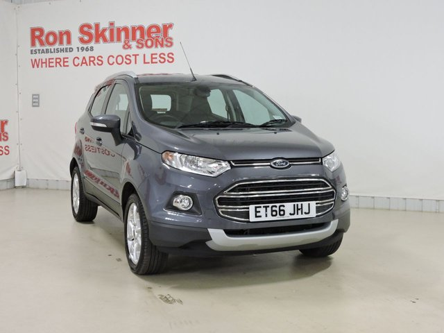 View our 2017 66 FORD ECOSPORT 1.0 TITANIUM 5d 124 BHP