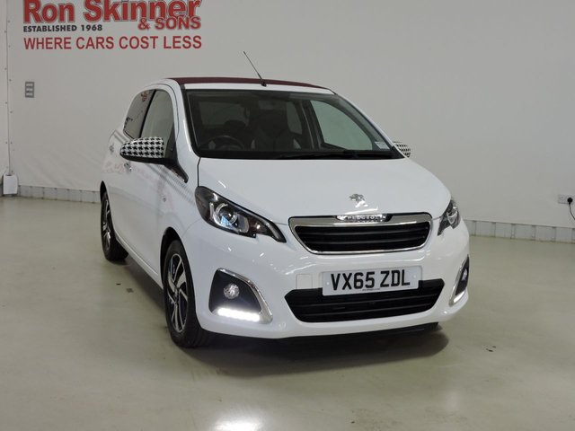 View our 2015 65 PEUGEOT 108 1.2 PURETECH ALLURE TOP 5d 82 BHP