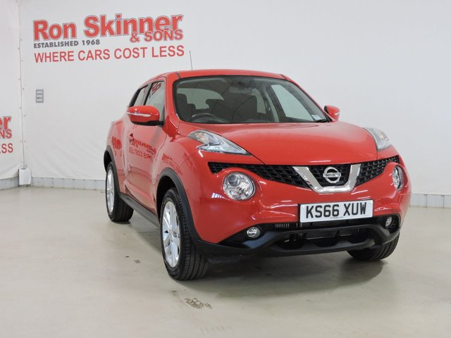 View our 2017 66 NISSAN JUKE 1.2 ACENTA DIG-T 5d 115 BHP