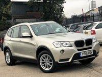 2011 BMW X3 2.0 XDRIVE20D SE 5d AUTO 181 BHP £11700.00
