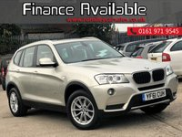 USED 2011 61 BMW X3 2.0 XDRIVE20D SE 5d AUTO 181 BHP FULL DEALER SERVICE HISTORY + 1 FORMER KEEPER AUTOMATIC GEARBOX