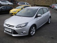 USED 2013 63 FORD FOCUS 1.6 ZETEC TDCI 5d 113 BHP ROAD TAX ONLY £20 A YEAR