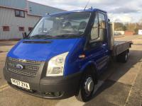 USED 2008 57 FORD TRANSIT 2.4TDCi 350 LWB Tipper * BRILLIANT RECOVERY TRUCK *