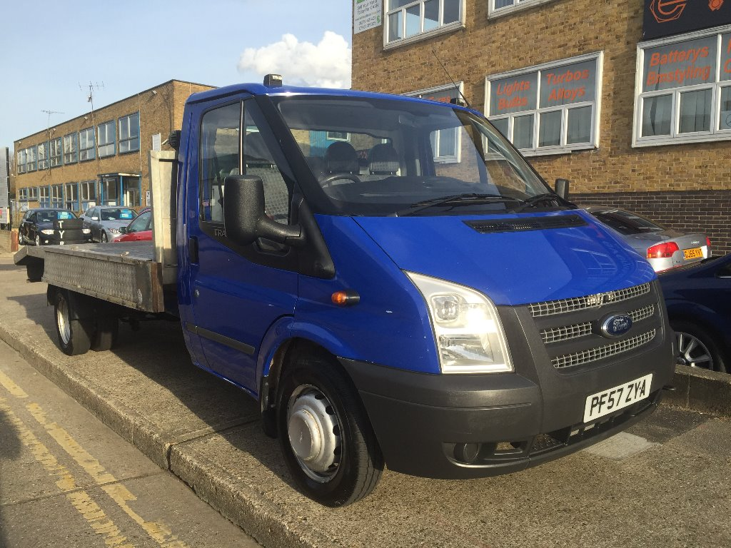 View our 2008 57 FORD TRANSIT 2.4TDCi 350 LWB Tipper
