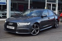 USED 2015 65 AUDI A6 2.0 TDI ULTRA S LINE BLACK EDITION 4d AUTO 188 BHP FINANCE TODAY WITH NO DEPOSIT