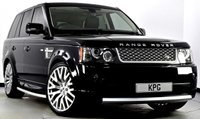 """USED 2011 11 LAND ROVER RANGE ROVER SPORT 3.0 TD V6 Autobiography Sport 5dr Auto Digital TV, Privacy, 22""""s ++"""