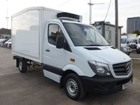USED 2014 14 MERCEDES-BENZ SPRINTER 313 CDI AUTOMATIC MWB CHILLER BOX, 130 BHP [EURO 5]