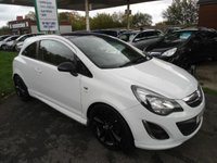 2012 VAUXHALL CORSA 1.2 LIMITED EDITION 3d 83 BHP ONE OWNER FROM NEW £4995.00